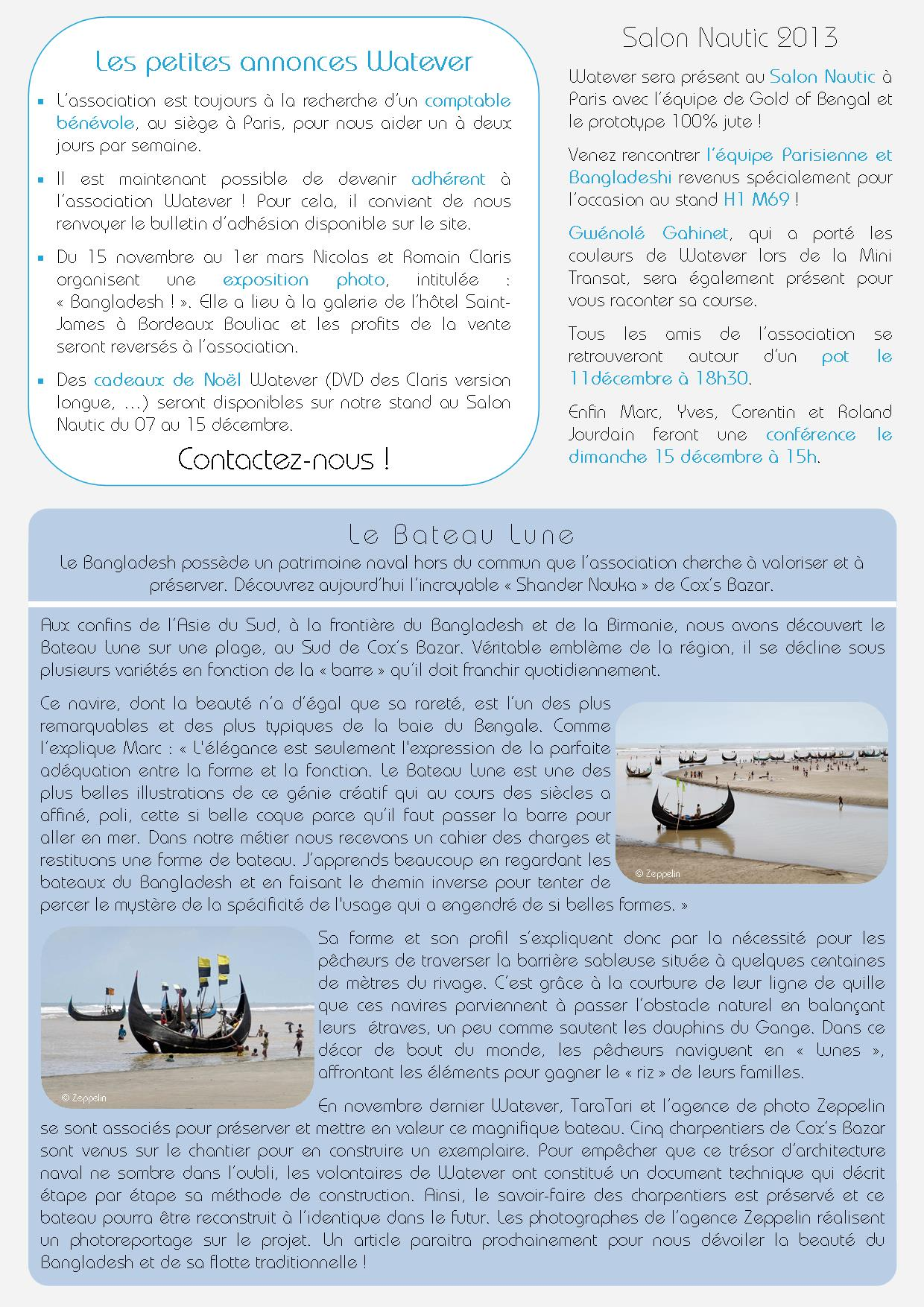 Newsletter Watever n°3 Décembre 2013 Page 2